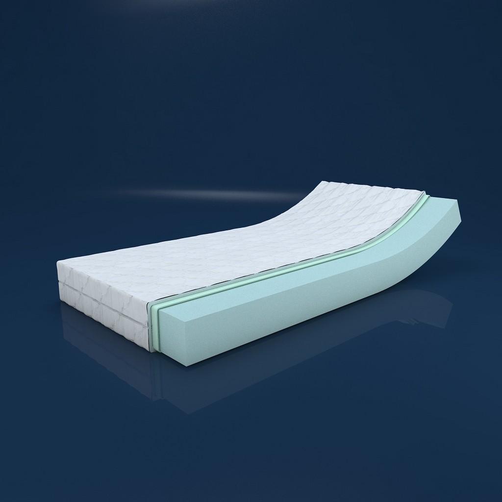 mss revasana premium 7 zonen matratze wellness inkl klimafaser 100x200x16cm ebay. Black Bedroom Furniture Sets. Home Design Ideas