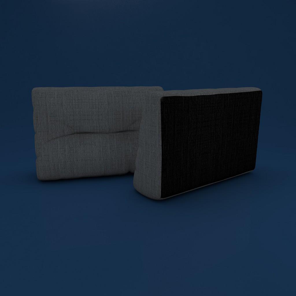 mss r ckenkissen f r bett r ckenlehne keilkissen f r. Black Bedroom Furniture Sets. Home Design Ideas