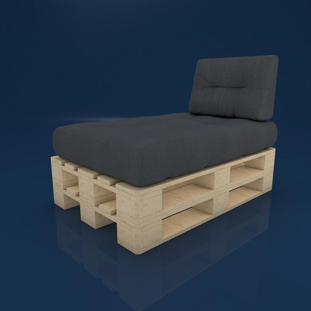 mss palettenkissen palettensofa palettenauflage in. Black Bedroom Furniture Sets. Home Design Ideas