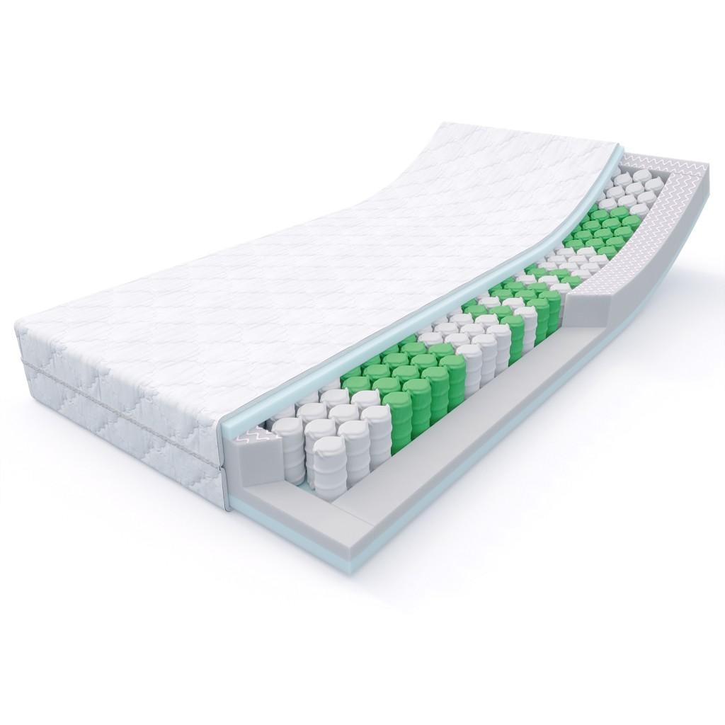 mss 7 zonen taschenfederkern matratze medic 80 90 100 120 140 160 x 200 cm ebay